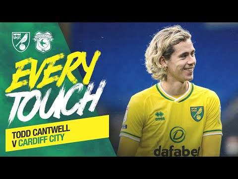 EVERY TOUCH | Todd Cantwell vs Cardiff City 🏄‍♂️