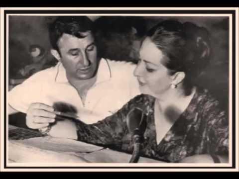Montserrat Caballé & Bernabé Martí. El Duo de la Africana. M. Fernandez Caballero.