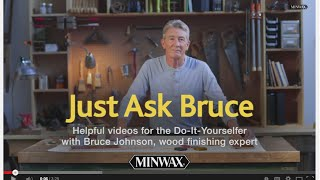 Stain And Finish Wood In One Step With Minwax Polyshades | Just Ask Bruce