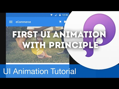 First UI Animation with Principle • UI/UX Animations with Principle & Sketch (Tutorial)