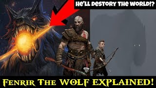 God of war ps4 (old theory)- The Wolf Fenrir EXPLAINED Breakdown, Analysis, Who is The Wolf Fenrir