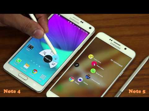 Samsung Galaxy Note 5 vs Samsung Galaxy Note 4 Full Comparison