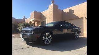 Driving the 5.7L Hemi V8 Dodge Challenger (awesome engine sound) - 360 video