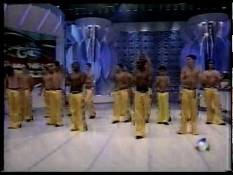 Grupo Mano a Mano no programa Raul Gil 2002
