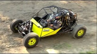 Wes Kean Rips It Up In His Rat Rod Bouncer And Maverick X3 Buggy