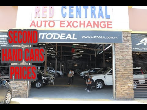 Used Cars Prices in Philippines RED CENTRAL EDSA