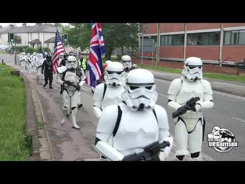 The UK Garrison Stormtroopers raid Elstree Studios on the 50th anniversary of LucasFilm