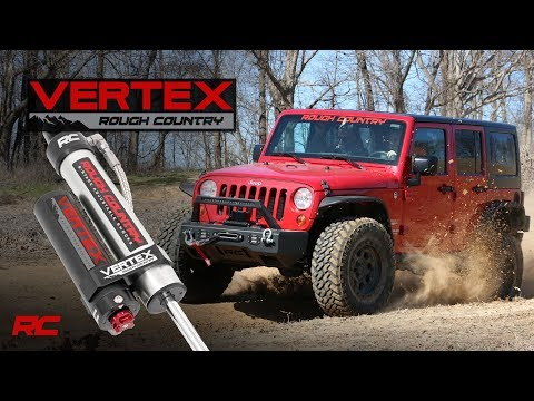 Vertex 8-Stage Adjustable Reservoir Shocks by Rough Country