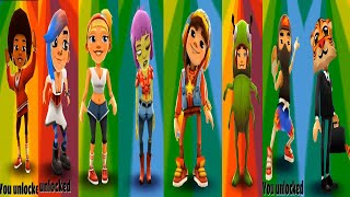 Subway Surfers All Character Buy Action - Subway Surfers Gameplay PC HD