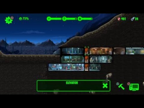 Fallout Shelter On PS4 | Gameplay Part 4 Unlocking Overseers Office