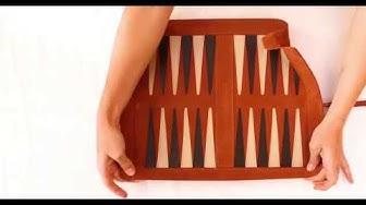 Sondergut Deluxe Backgammon Aufbauanleitung