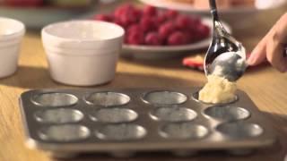Nadia Sawalha's Splenda Raspberry Almond Friands