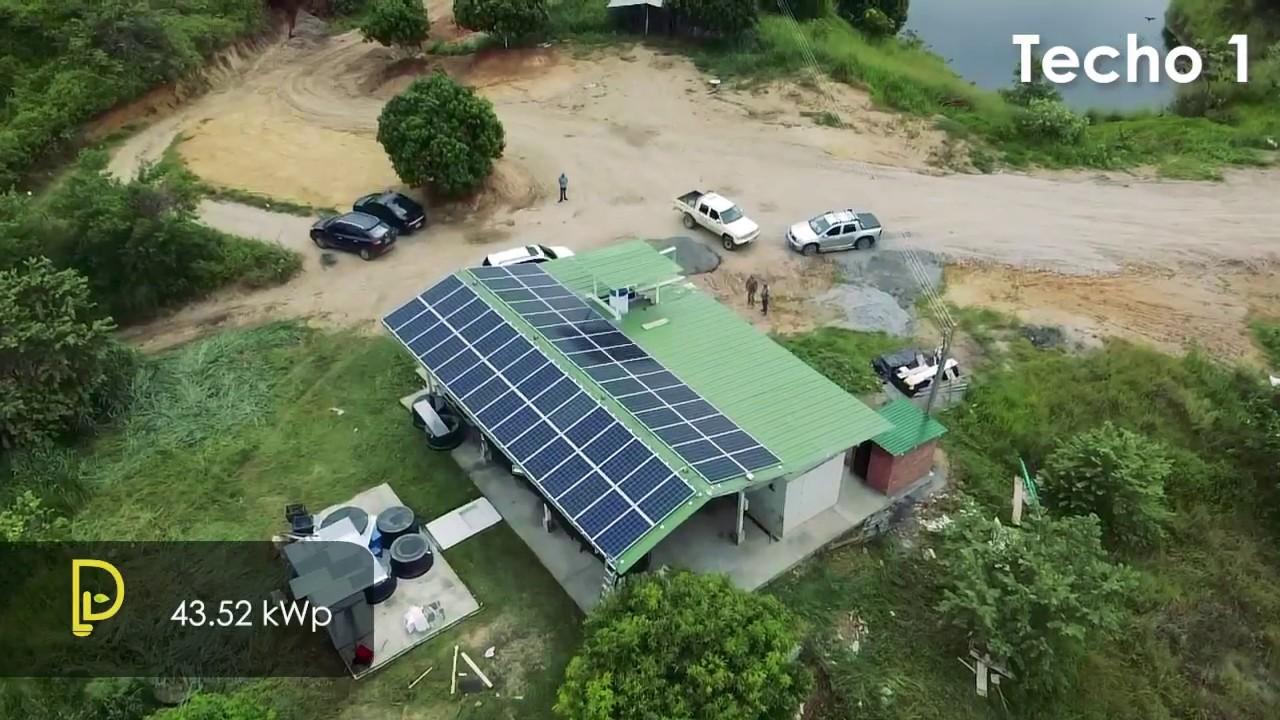 Proyecto de Energía solar Piscícola Baracaldo