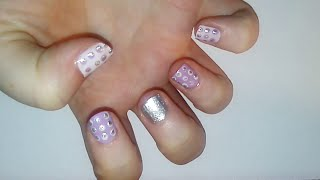Pink Sparkles Nail Art Tutorial | Samantha Beauty Thumbnail