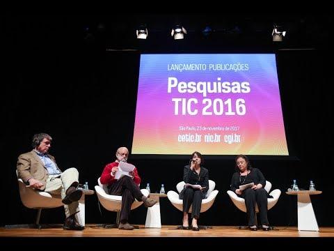 Lançamento Publicações TIC 2016 [áudio em Português]