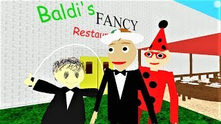 BALDI'S FANCY RESTAURANT | Roblox RP and Morphs
