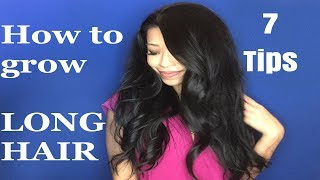 How to grow long hair video: 7 tips