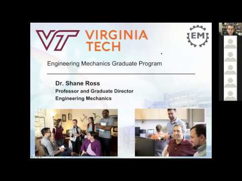 Engineering Mechanics at Virginia Tech Information Session