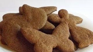 Шоколадное Печенье «Зверята» кулинарный видео рецепт