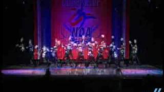 NDA Nationals 2009: Pascack Valley Reg. HS- Lg Varsity Pom 2nd place