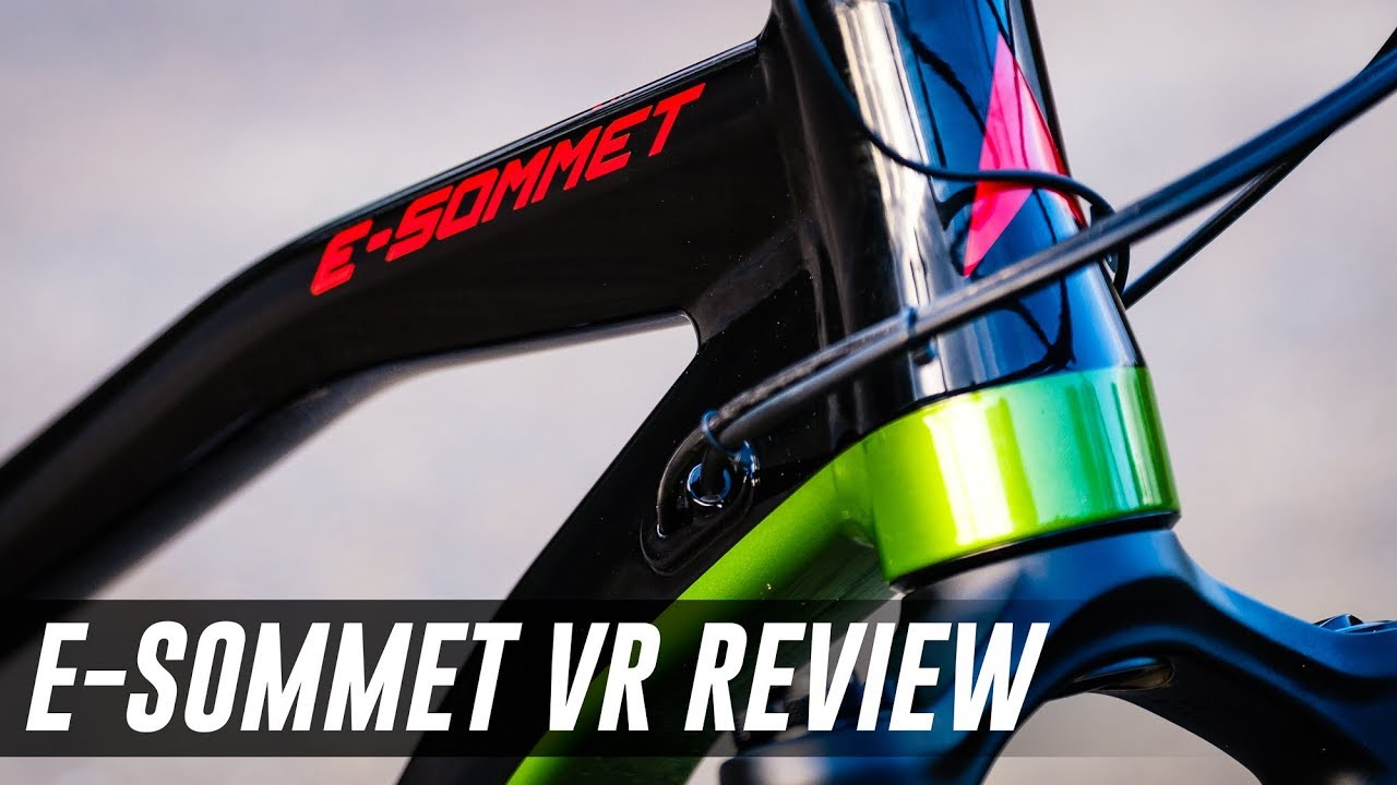 d5be6368c2f 2019 Vitus E-Sommet VR Review - An Outstanding Enduro Ebike - YouTube