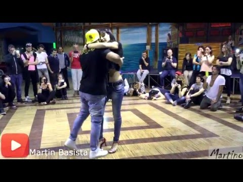 Edo and Denise musicality kizomba dance @ ROME FUSION 2016