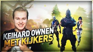 KEIHARD OWNEN MET KIJKERS!! - Fortnite Battle Royale (Nederlands)