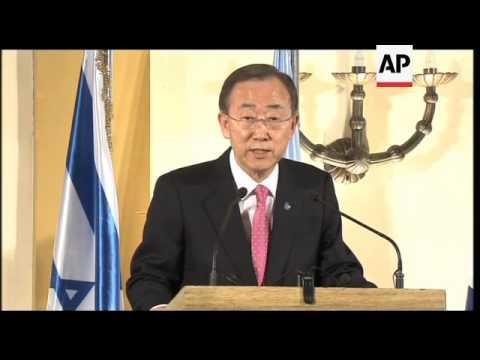 Ban Ki-moon comments on Syria