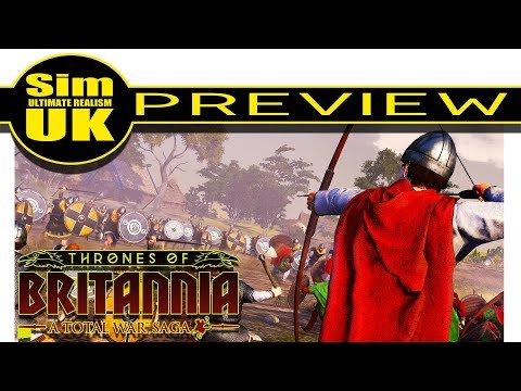 Total War Saga : Thrones of Britannia FIRST LOOK (Preview)