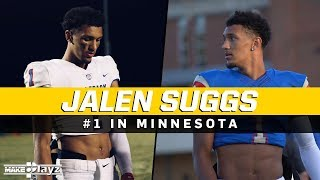 Jalen Suggs is UNSTOPPABLE on the Gridiron! #1 QB in Minnesota!