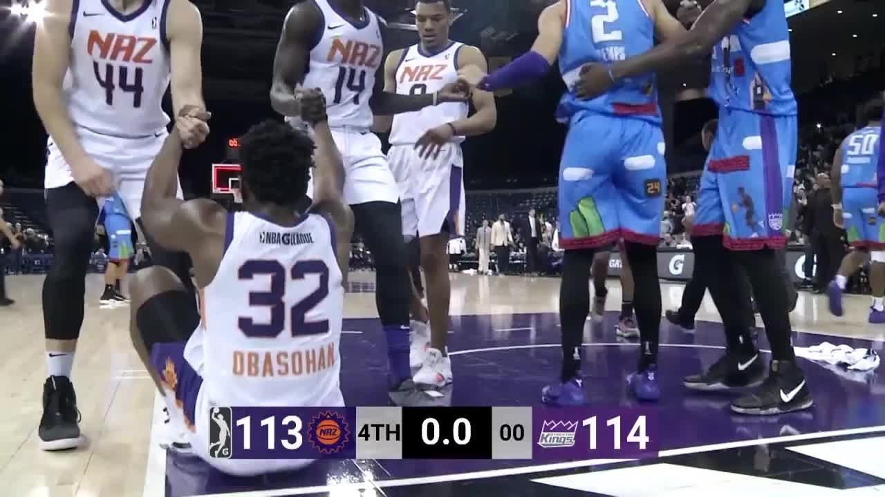 5d2fd6ba512 Stockton Kings vs. Northern Arizona Suns - Condensed Game - YouTube