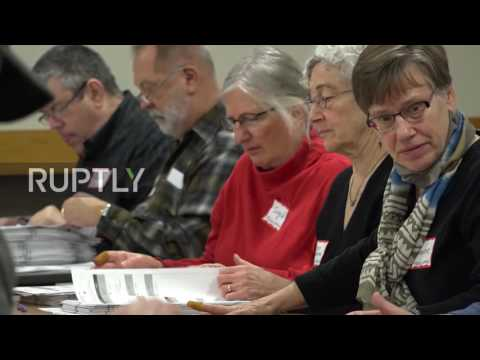 USA: Recount of presidential votes in Wisconsin begins