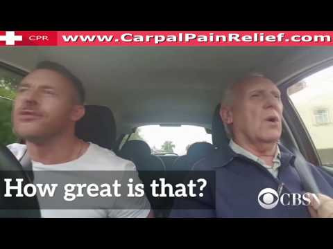 Son sings carpool karaoke to bring back dad with Alzheimer's