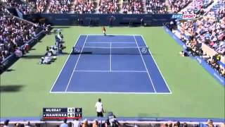 Stanislas Wawrinka vs Andy Murray ~ Highlights ~ US Open 2013 QF)
