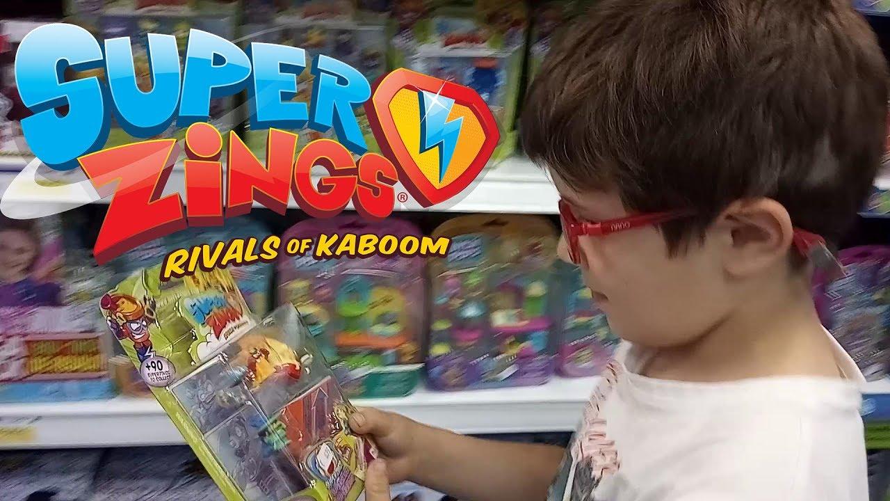 Superzings 🌟 Tienda de juguetes 🚀