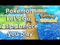 Pokemon Let's Go: 7 tips before you play