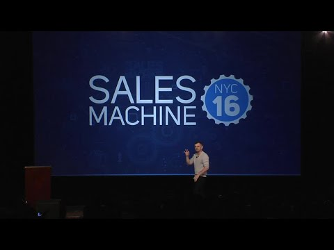 Gary Vaynerchuk: Everything You Do Is Sales [Sales Machine NYC 16]