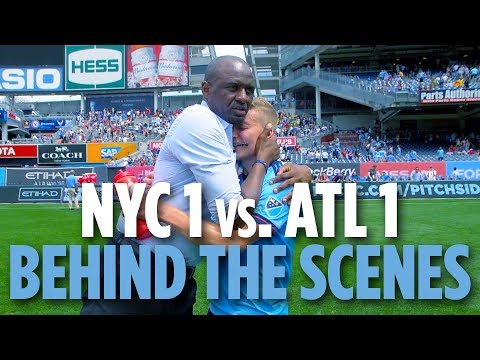 Vieira's Final Game | BEHIND THE SCENES | NYCFC 1 vs. Atlanta United 1 | 06.09.18