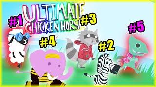 OSTATNI BĘDĄ PIERWSZYMI CHALLENGE 2 | Ultimate Chicken Horse [#129] | BLADII