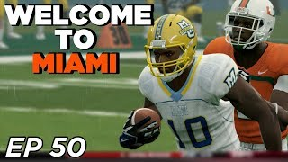 NCAA Football 14 Dynasty | Marquette - THOSE MIAMI ATHLETES! TURNOVER CHAIN?!! UH OH - Ep 50