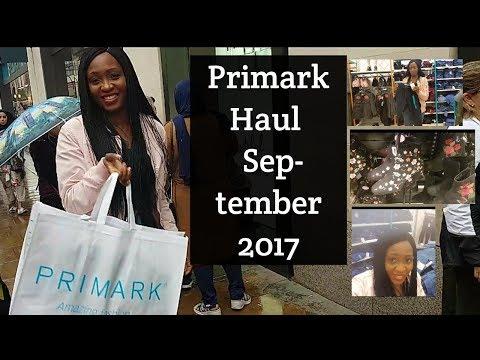 Huge Primark Haul September 2017 Oxford street