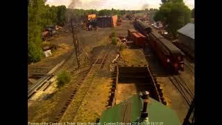 7/6/2018 Nine car train 215 arrives in Chama, NM