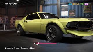 Ford Mustang Boss 302 Offroad Spec Customization - NFS Payback