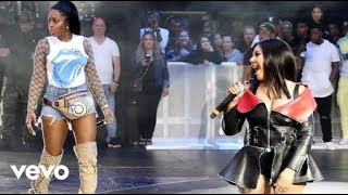 Remy Ma Amp Lil 39 Kim Wake Me Up Live At Summerjam 2018