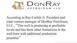 DonRay Petroleum Announced Completion of the DRP Grace #2 Well