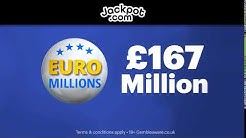 £165,000,000 EuroMillions Superdraw - Europe's Biggest Jackpot Ever