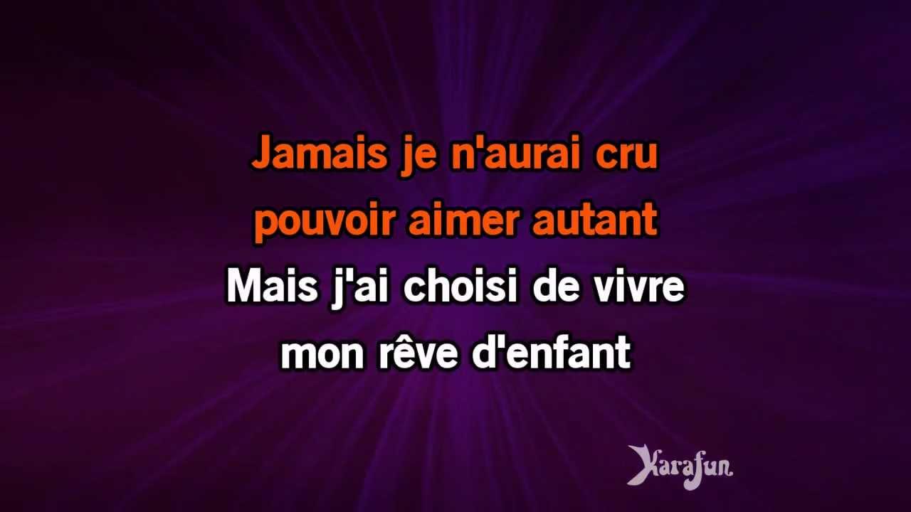 Karaoké Rêves d enfants - Shy m   - YouTube 5436768ac3b