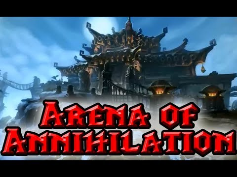 """SCENARIO: Arena of Annihilation GUIDE by QELRIC """"Mists of Pandaria"""" (MoP)"""