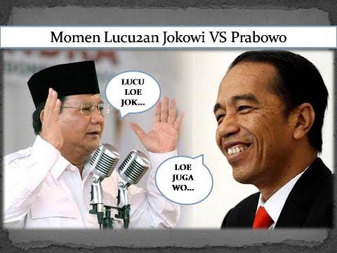 Momen Lucu2an Jokowi Vs Prabowo, Ngakak Abizzz