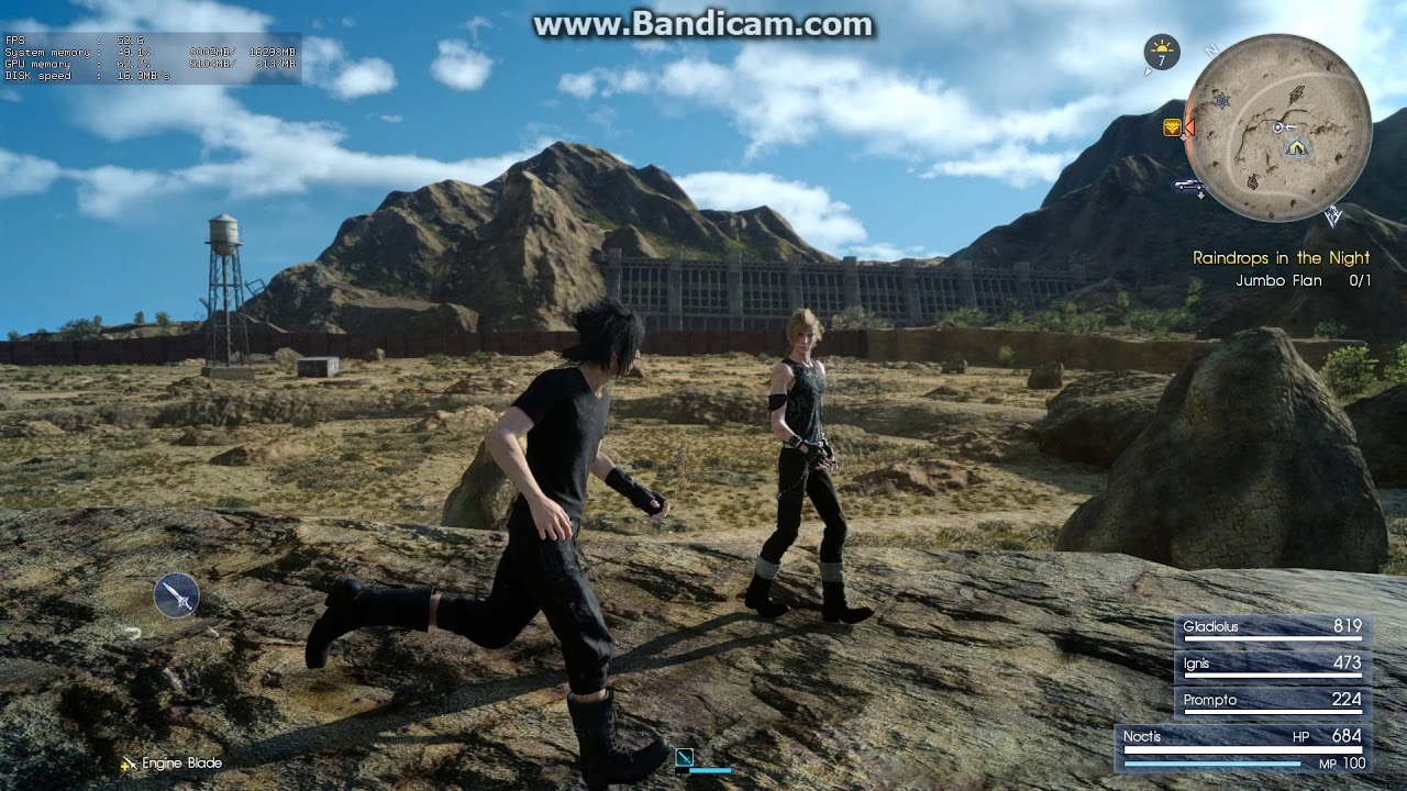 Final fantasy XV Antialiasing Problem,pixel shimmering,jaggies,etc,very  poor graphic by Mebby BB